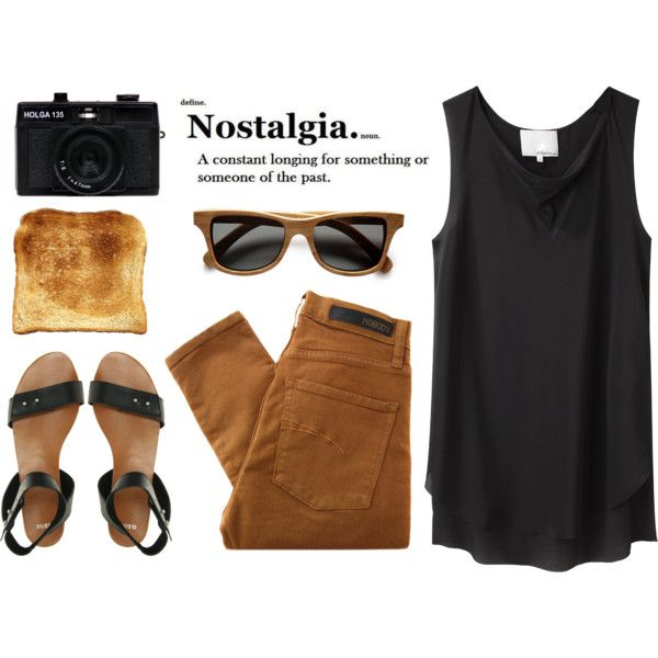 Wooden sunglasses by veronika-7, via Polyvore
