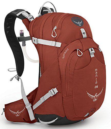 Osprey Mens Manta 28 Hydration Pack Radiant Red MediumLarge *** Visit the image link more details.