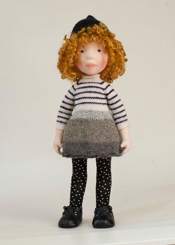 Jessey  Handmade cloth doll. Partial payment by AldegondeCeelen