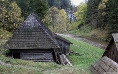 Watermills, Kvačianska dolina, National Park High Tatras, Slovakia