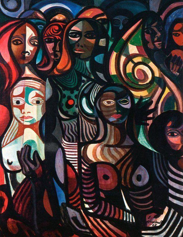 Mulheres Facetadas - 1968 Mangue Di Cavalcanti