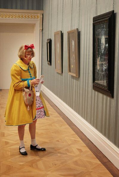 Grayson Perry. A man who appears as he wants and disarms the world through generosity of spirit and honesty. To be admired more than almost anything.