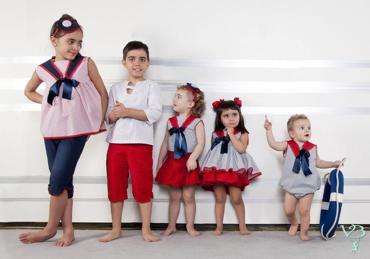 Vilma & Bosco ~ Colección Primavera Verano 2014 | Familia #Marina Azul | #Moda #infantil, diseños para bebés, niños y niñas hasta los 10 años | #celebraciones