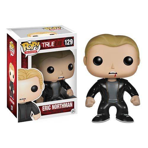Eric Northman, played by Actor Alexander Skarsgård, is a vampire in the HBO original series True Blood and is the owner of the Fangtasia bar in Shreveport. Now, he comes styled as a Funko Pop! Vinyl f
