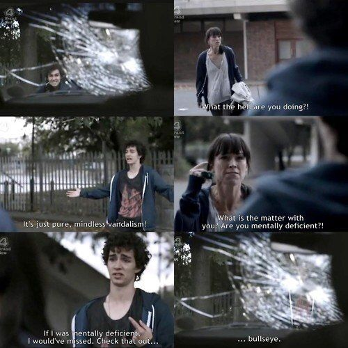 Image result for misfits quotes nathan
