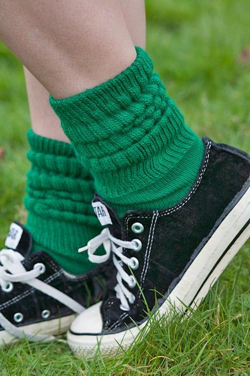 Dreamer Acrylic Slouch Socks