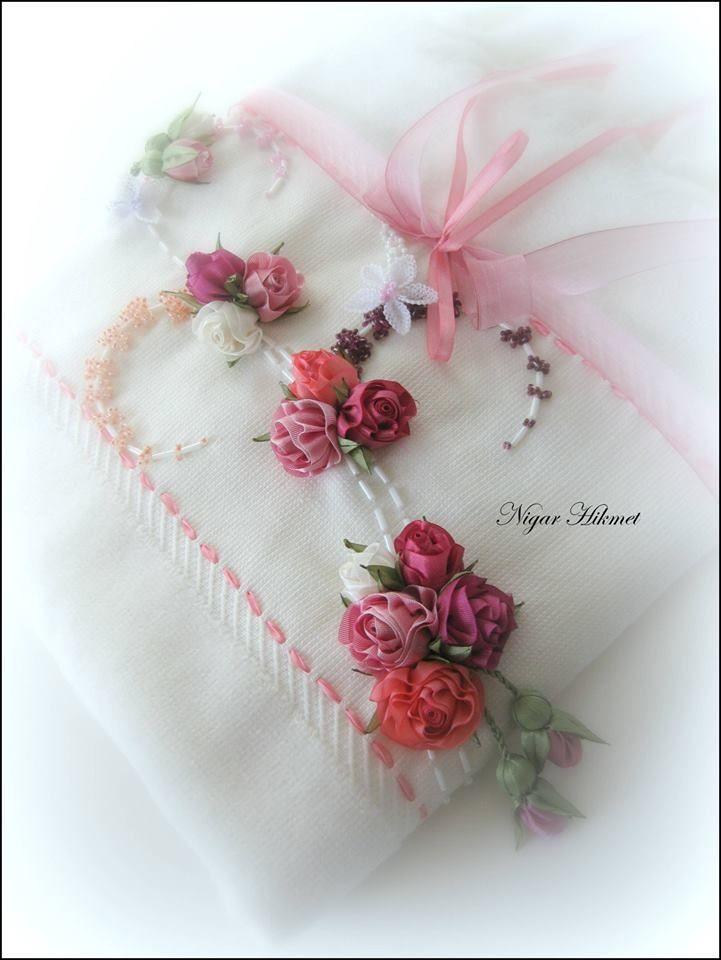 Ribbon embroidery, Nigar Hikmet