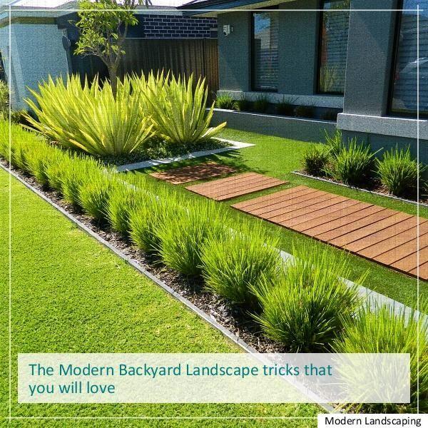 Modern Landscaping Edging