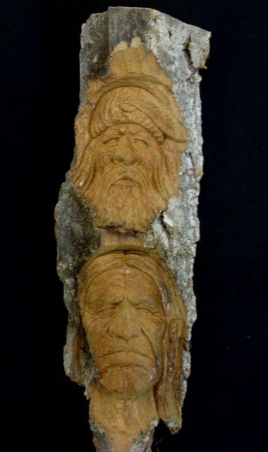 Best bark carvings images on pinterest carved wood