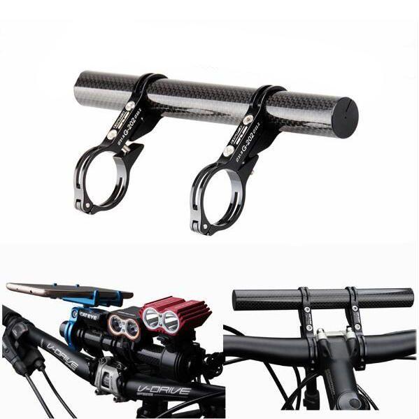 Cycling Bike Bicycle HandleBar Lamp Bracket Holder Extension Extender Mount US
