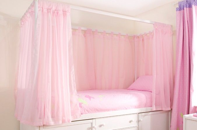 1000 Images About Girls Beds On Pinterest Cupboards
