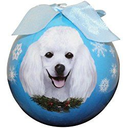 Poodle Christmas Ornament Shatter Proof Ball Easy To Personalize A Perfect Gift For Poodle Lovers Visit our site now! Visit our website for more!
