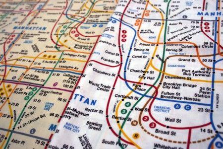 Olde New York Subway Map-2