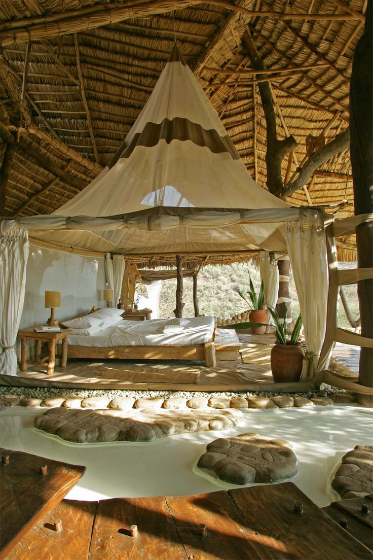 Jurnal de design interior - Amenajări interioare : Shompole Lodge - un resort idilic în Kenya