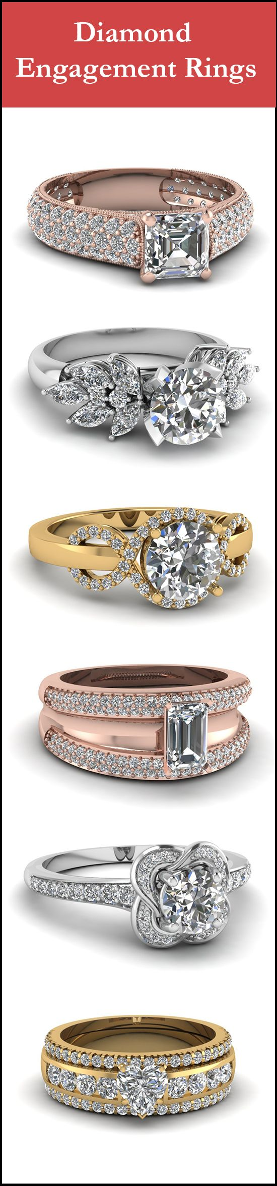 None of these Sparkly Engagement rings cross $ 4000 , But you'd never know it.