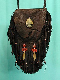 Native American Apache Indian Medicine Bag