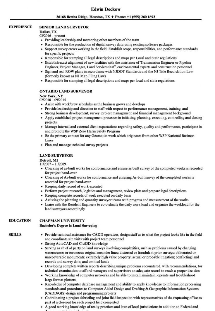 Browse Our Image Of Surveyors Report Template Resume Examples Resume No Experience Job Resume Samples