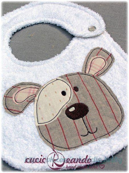 Ideas para el hogar: Baberos con moldes de costura incluye dos modelos