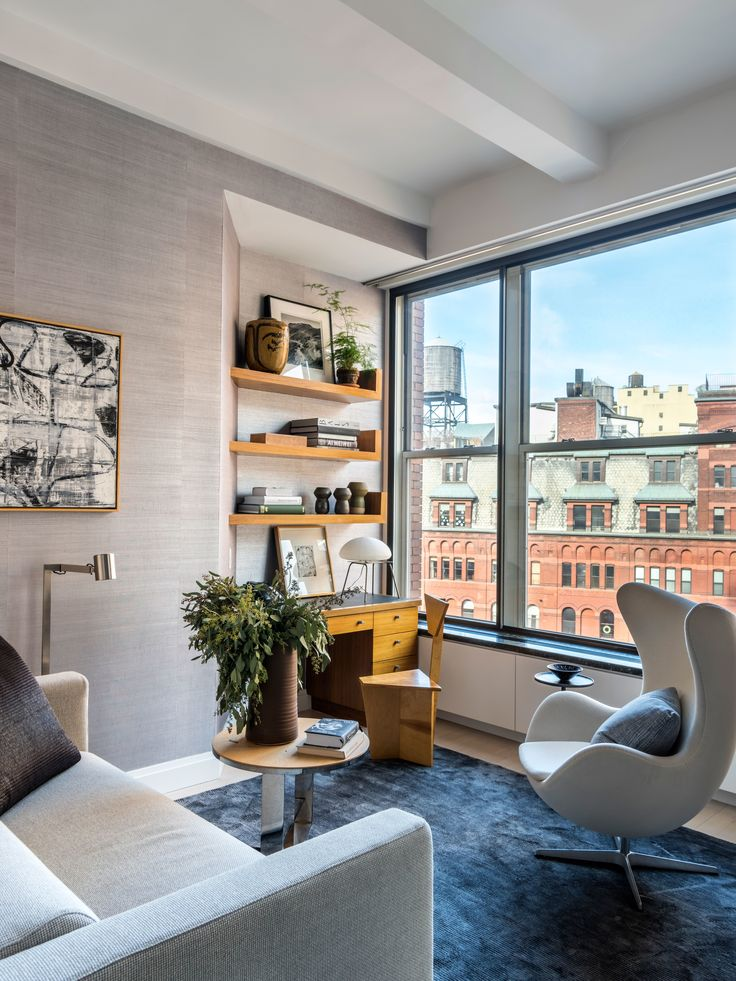 A Hollywood Power Couple's Tailored New York Apartment