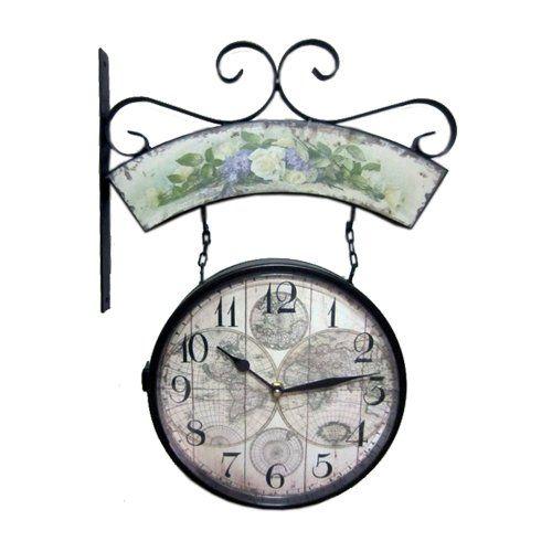 de 24 bsta best two sided outdoor clocks bilderna p pinterest