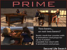 PrimBay - Rustic bar set by PRIME