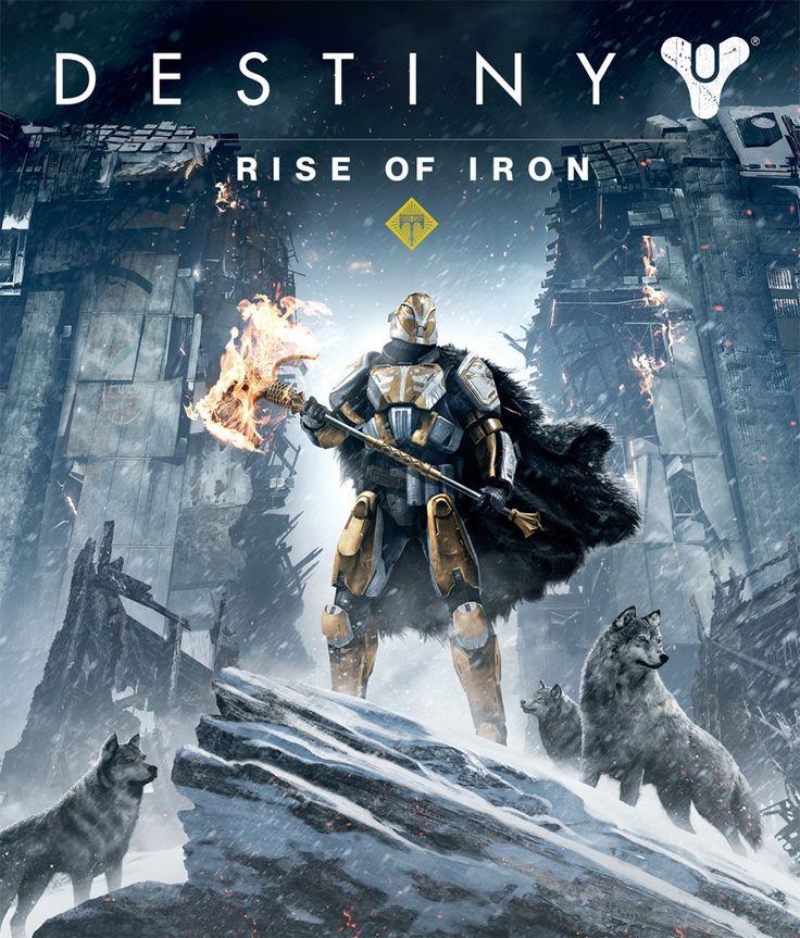 Destiny Rise of Iron poster