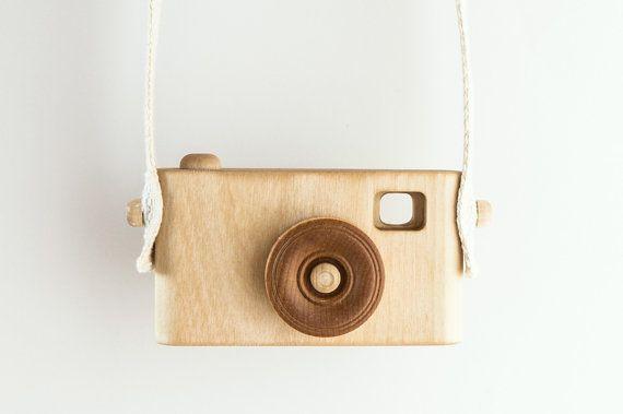 Hölzernes Spielzeug Kamera Holzspielzeug Baby