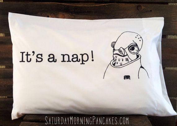 It's a Nap Pillowcase!