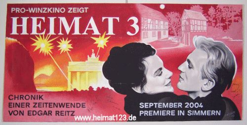 Edgar Reitz HEIMAT 3: Filmplakate | Movie Posters - Thomas Hönemann