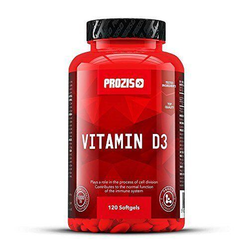 Vitamine D3 1000 UI 120 gélules: Vitamine D3 de Prozis Foods – Un rayon de soleil dans une gélule pour aider ton corps et améliorer ta…