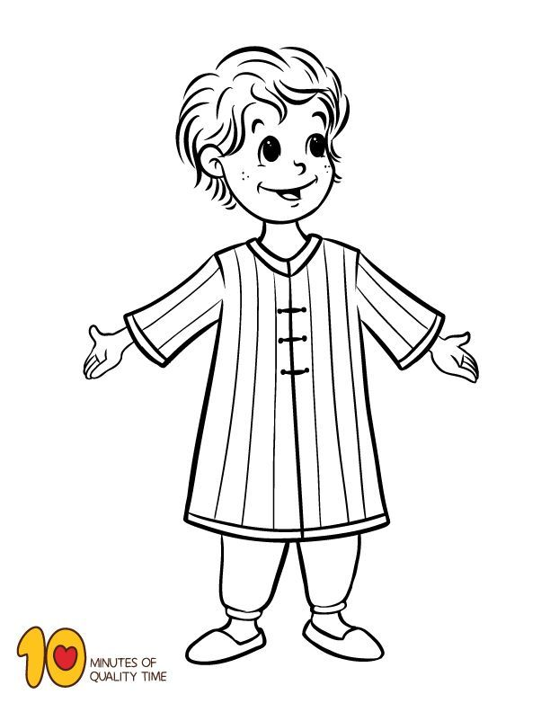 30+ Joseph and his coat of many colors coloring page info