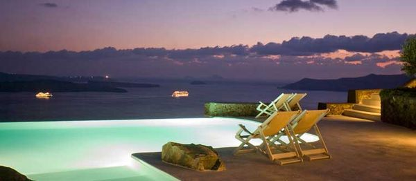 Immaculate Ocean View Villas - The Aenaon Villas Offer Unobstructed Views of Santorini (GALLERY)