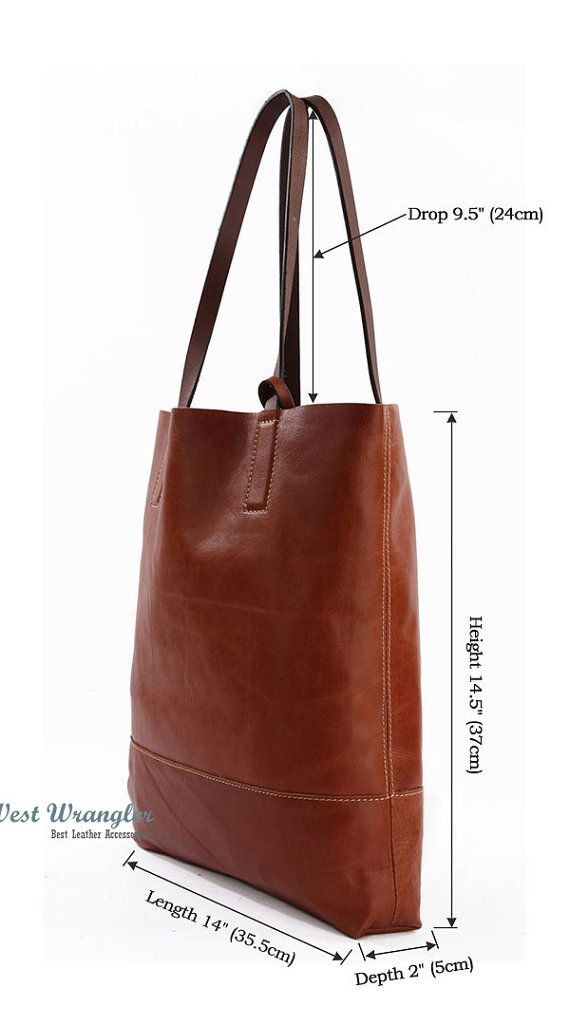 Handmade leather bag for laptop, books, office, business bag, multi-function bag, shoulder bag