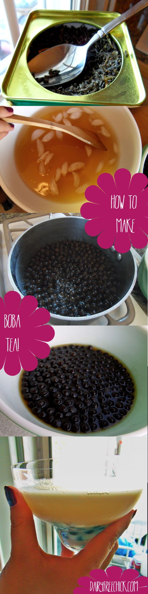 how to make boba tea at home! so much cheaper!