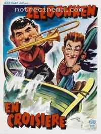 affiche  Laurel et Hardy en croisière 75471