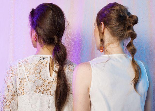 These multiple banded ponytails <3 | June '17 | COTTONINK