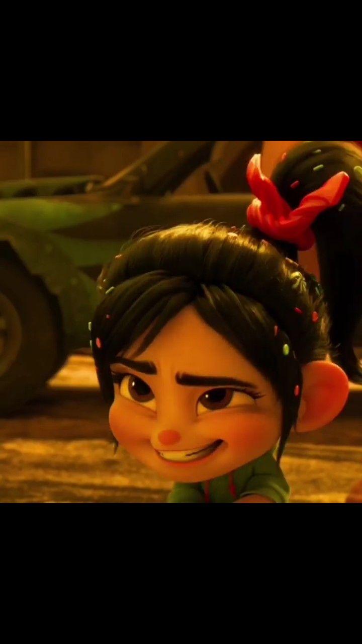Vanellope visits the Disney website - Wreck-It-Ralph 2