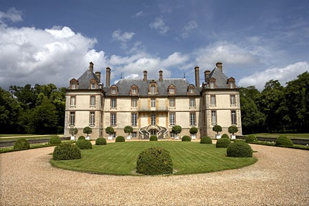 Chateau de Bourron : Font, here we come!