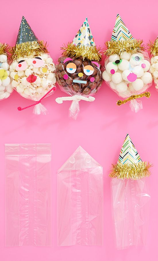 DIY PARTY PEOPLE FAVOR BAGS...