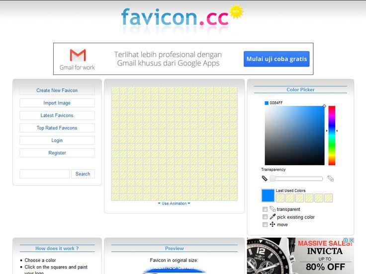Cara Membuat Favicon Untuk Web Joomla Anda Secara Online