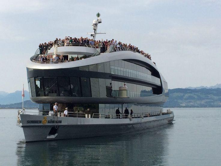 Laivalla Bodensee 2014.