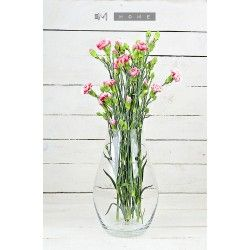 Handmade Elegant Glass Vase