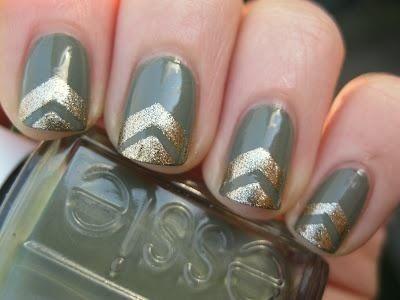 Army Chevron Nails