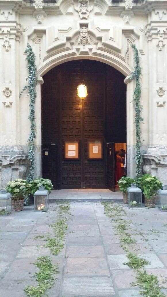 #Decoración para #bodas en #iglesias || Andaluflor