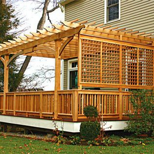 1000 ideas about deck privacy screens on pinterest for Hanging privacy screens for decks