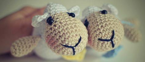 Návod na malú ovečku so srdiečkom