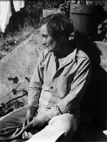 Dorothea Lange, 1936 -by Rondal Partridge: