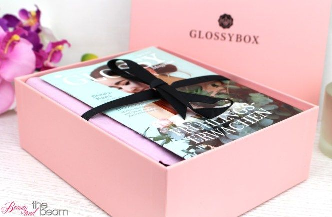 "Glossybox ""Frühlingserwachen"" April 2017 [Unboxing] 