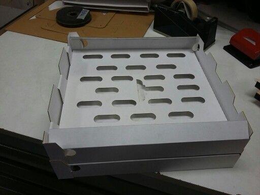Versione cubo pizza per keepizza. Primo campione che verrà testato da Gennaro Esposito
