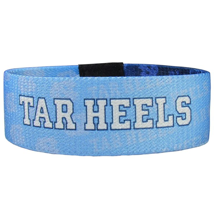 "Checkout our #LicensedGear products FREE SHIPPING + 10% OFF Coupon Code ""Official"" N. Carolina Tar Heels Stretch Bracelets - Officially licensed College product Stretch fabric for comfortable fit for most wrist sizes Dye sublimation graphics are sharp and bright Bracelet features the team name and logo with repeating graphics A must have for any N. Carolina Tar Heels fan! - Price: $14.00. Buy now at https://officiallylicensedgear.com/n-carolina-tar-heels-stretch-bracelets-cewb9"